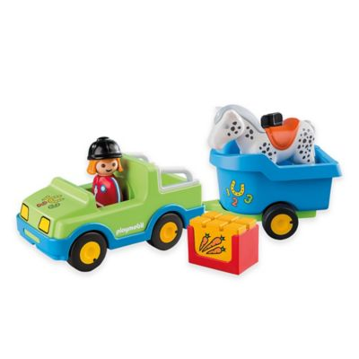 Playmobil® Car with Horse Trailer
