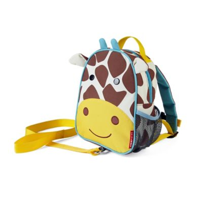 SKIP*HOP® Giraffe Zoo Little Kid Safety Harness Backpack