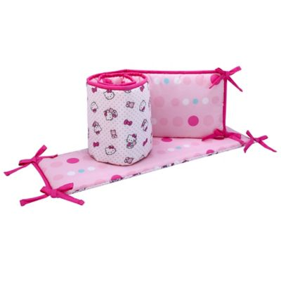 Hello Kitty Crib Bedding Set