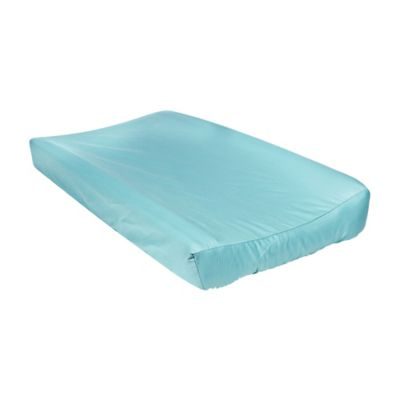 Trend Lab® Waverly® Pom Pom Play Changing Pad Cover in Teal