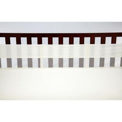 NoJo® Secure-Me Mesh Crib Liner in Sage