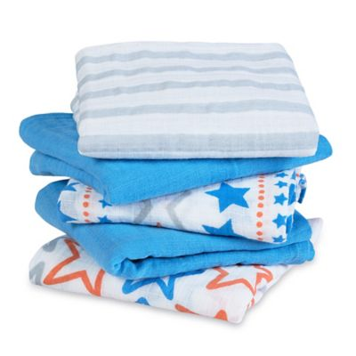 aden by aden + anais® 5-Pack Musy Muslin Squares