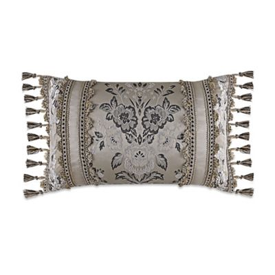 J. Queen New York™ Alessandra Boudoir Throw Pillow in Smoke