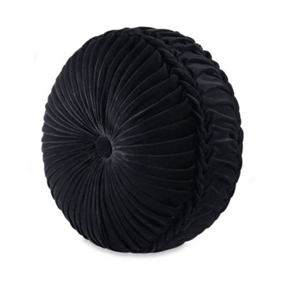 Black Round Bedding
