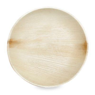 Round 9-Inch Palm Leaf Plates