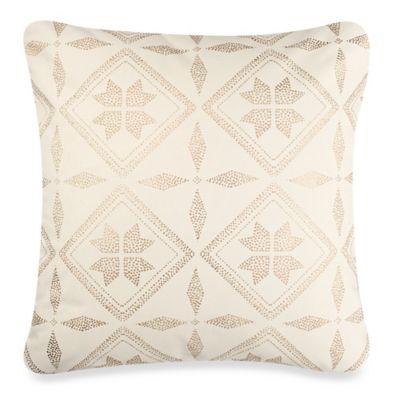 Anthology™ Mina Box Pleat Throw Pillow