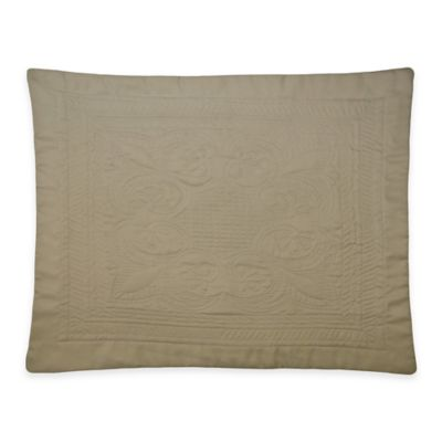 French Tile Standard Pillow Sham in Sage