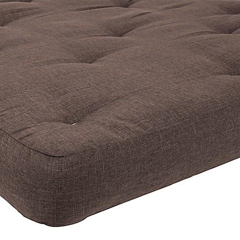 Sertar redbud 10 inch thick futon full mattress bed bath for Thick futon mattress sale