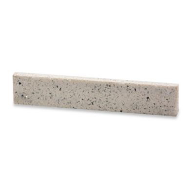 RSVP 10-Inch Quartz Stone Magnetic Knife Bar in White