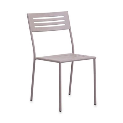 Zuo® Wald Outdoor Dining Chair in Taupe (Set of 2)