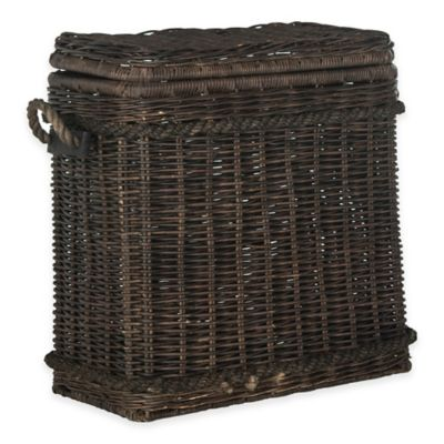 Safavieh Sidonie Rattan Trunk in Natural