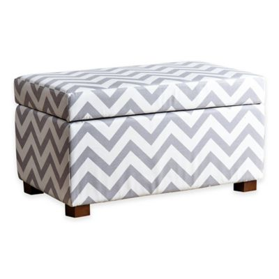 Abbyson Living® Miley Storage Ottoman in Yellow
