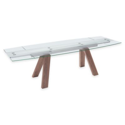 Zuo® Wonder Extension Table in Walnut