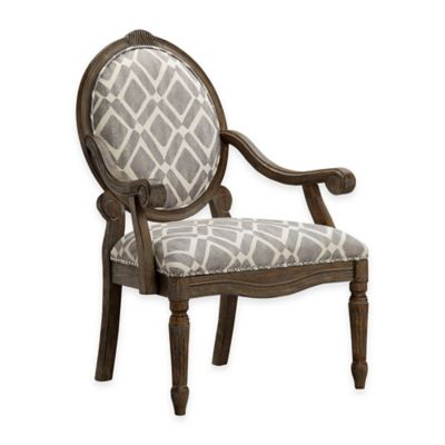 Madison Park Brentwood Arm Chair in Grey