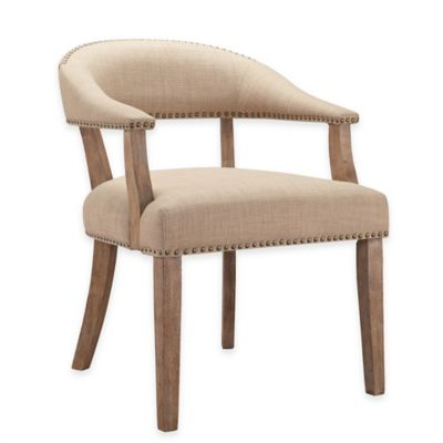 Madison Park Tate Chairs in Tan (Set of 2)