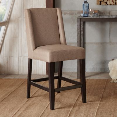 Madison Park Brody Counter Stool in Taupe