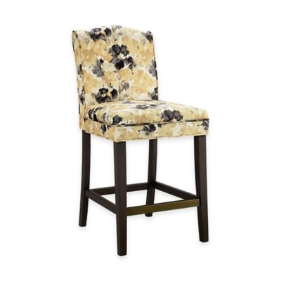 Madison Park Camel Counter Stool in Yellow/Multi