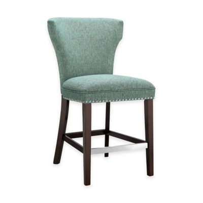 Madison Park Churchill Counter Stool in Teal