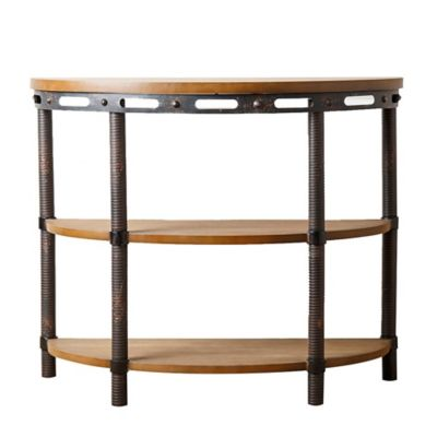Abbyson Living® Bixel Industrial Sofa Table