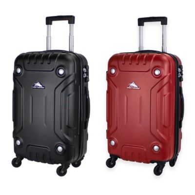 High Sierra® 21-1/2-Inch Carry On Hardside Spinner in Black