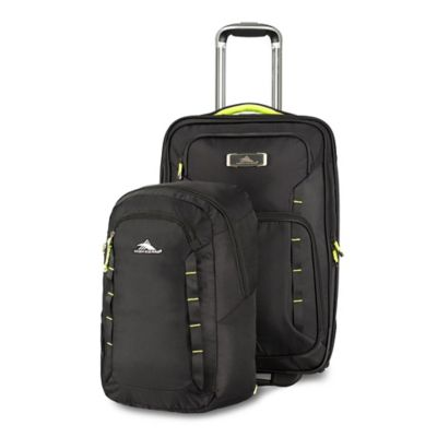 Black/Lime Luggage Carry Ons