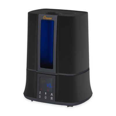 Crane Digital Warm and Cool Mist Humidifier in Black
