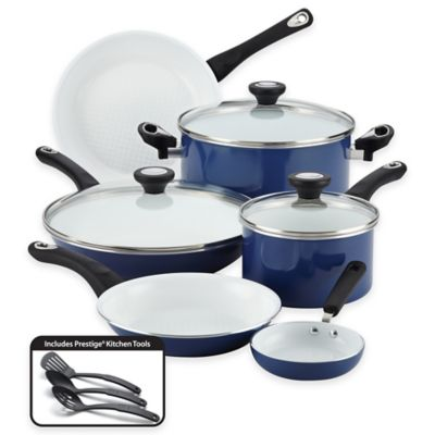Blue Ceramic Cookware