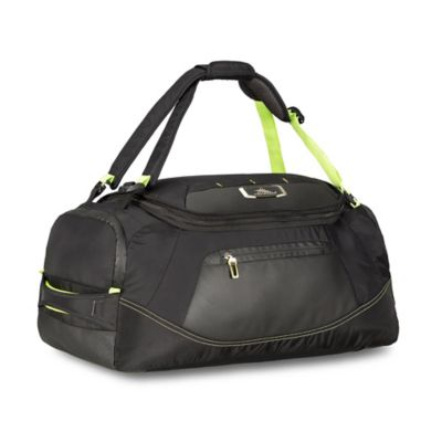High Sierra® AT8 22-Inch Carry On Duffle in Black/Lime