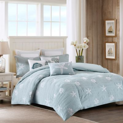 Harbor House™ Seaside Quilted King Duvet Cover