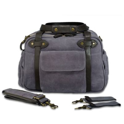 SoYoung Charlie Diaper Bag in Charcoal