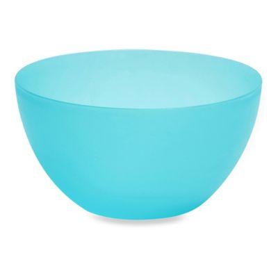 Polypropylene Bowls in Blue (Set of 4)