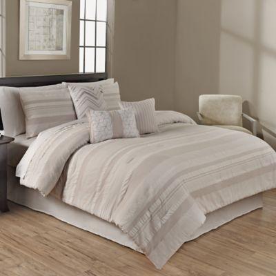 Anton 6-Piece Twin Comforter Set in Natural