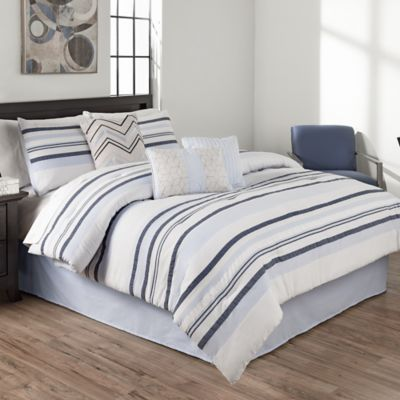 Anton 8-Piece Full Comforter Set in Spa