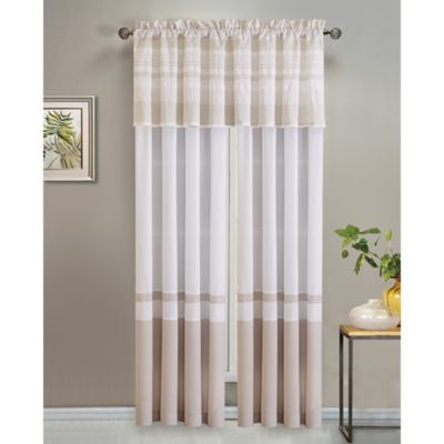 Anton 84-Inch Window Curtain Panel Pair in Spa