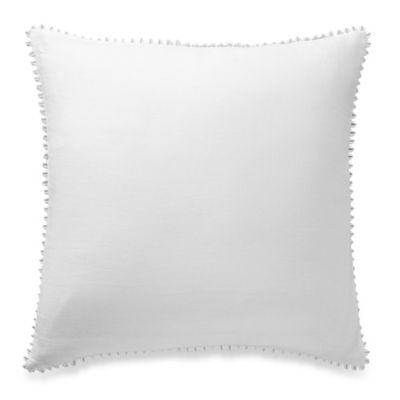 Anthology™ Tia European Pillow Sham in White