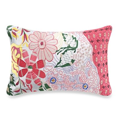 Anthology™ Tia Embroidered and Beaded Oblong Throw Pillow
