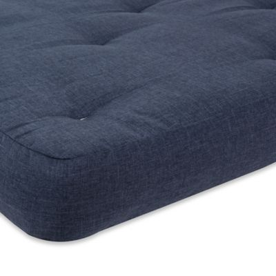 Serta® Redbud 10-Inch Thick Futon Full Mattress in Marmmor Grey