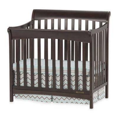 Child Craft™ Coventry Mini 4-in-1 Convertible Crib in Slate