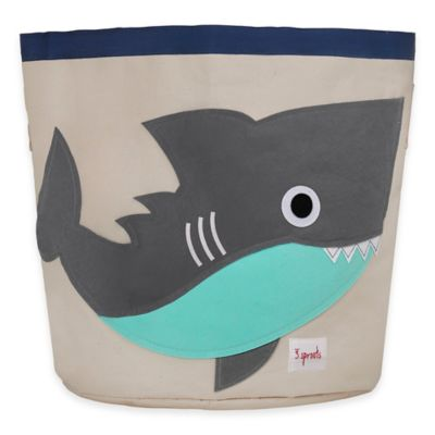 3 Sprouts Shark Storage Bin