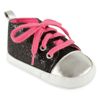 BabyVision® Luvable Friends® Sparkly Sneaker Girls' Shoes