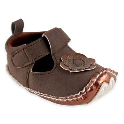 BabyVision® Luvable Friends® Size 6-12M Mary Jane Dress Up Shoe in Brown