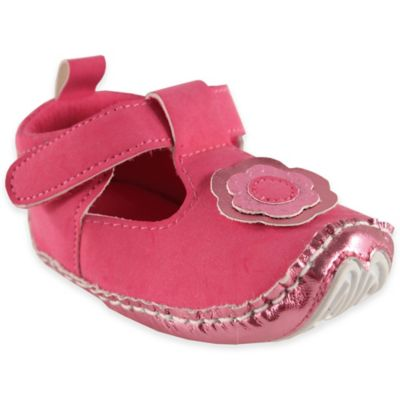 BabyVision® Luvable Friends® Size 6-12M Mary Jane Dress Up Shoe in Pink