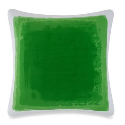 kate spade new york Watercolor European Pillow Sham in Green