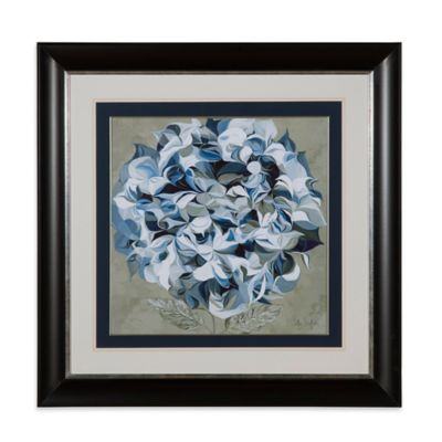 Elegant Hydrangeas I Framed Wall Art