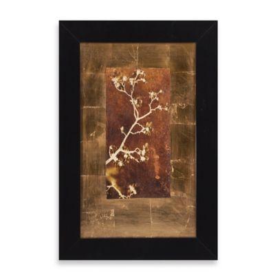 Gold Leaf Branches I Framed Wall Art
