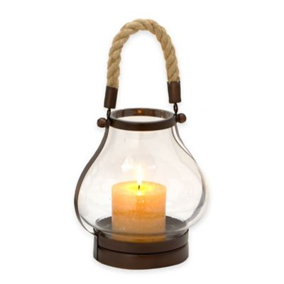 Cambridge 11-Inch Lantern Candle Holder in Bronze