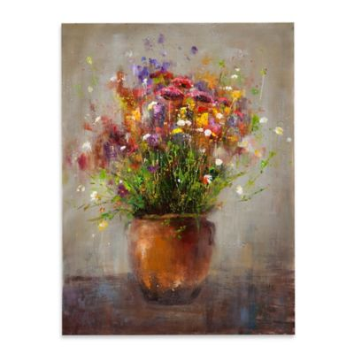 Copper Vase Canvas Wall Art