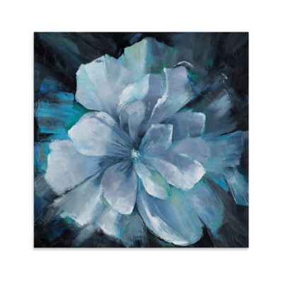 Beauty in Blue Canvas Wall Art