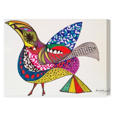 Oliver Gal Artist Co. Bird Canvas Wall Art