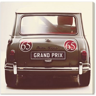 The Oliver Gal Artist Co. Grand Prix Canvas Wall Art